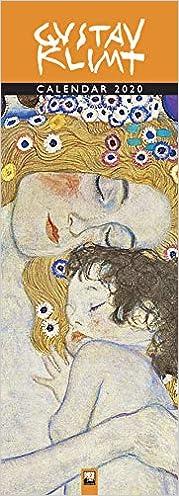 Gustav Klimt Slim 2020 Calendar