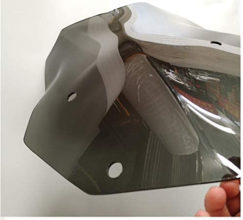 Couleur : Noir Double Bubble Pare-Brise Pare-Brise /écran 2013-2018 for BMW R1200GS R 1200 GS Adventure ABS Triple Standard LC R1250GS ADV 2019