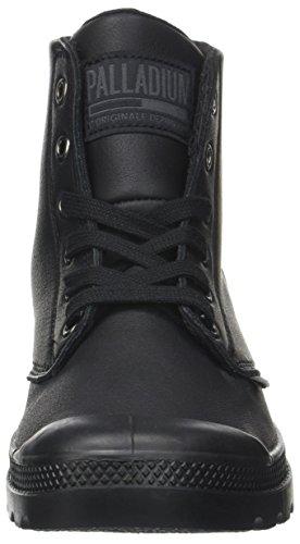 Sneaker Pampa Unisex a U Alto Leat Nero Hi – Black Adulto Palladium Collo xTSqwaIqn
