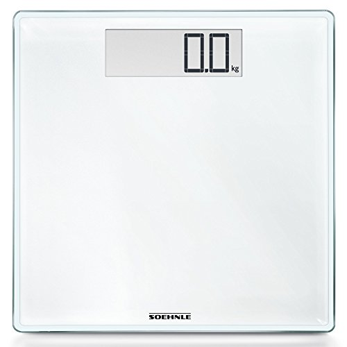 Soehnle 63853 Style Sense Comfort Digital Bathroom Scale   White by Soehnle