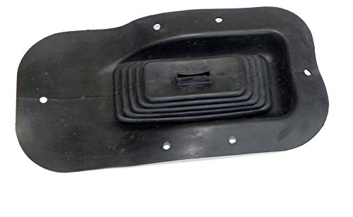 (H-7-13) 1968-72 Chevelle Elcamino SS Manual Trans Floor Shifter Rubber Boot with Console Inline Tube