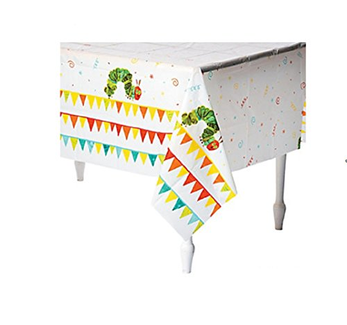 The Very Hungry Caterpillar Tablecloth (Hungry Caterpillar Party Decorations)