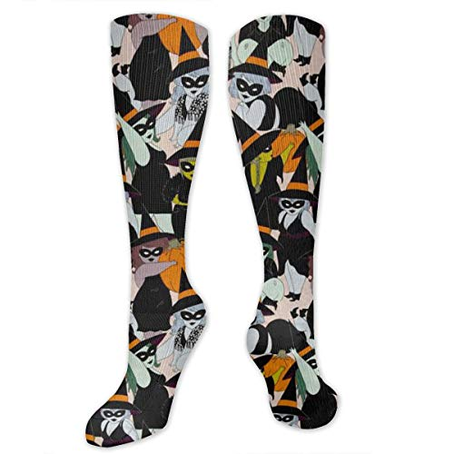 Halloween Witches Compression Socks for Men & Women,Graduated
