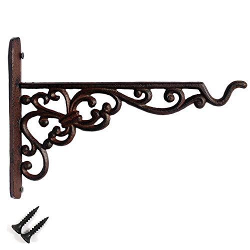 Vintage Cast Iron Plant Hook Hanger 10