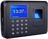 TECHVIDA Reloj Checador de Huella Digital Biometrico por Memoria de 1000 Huellas Digitales con Pantalla a Colo