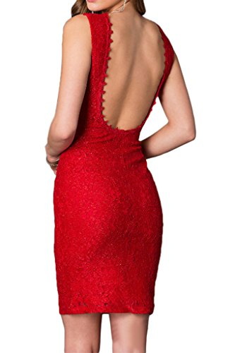 Dress Sleeveless Elegant Lace Burgundy Backless Homecoming Dress Cocktail Avril Dress qxZwvR1Zd