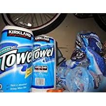 Paper Towels for Kitchen or Garage Hand Wipes or Cleanup By Kirkland Premium 2 BIG Rolls 320 Sheets