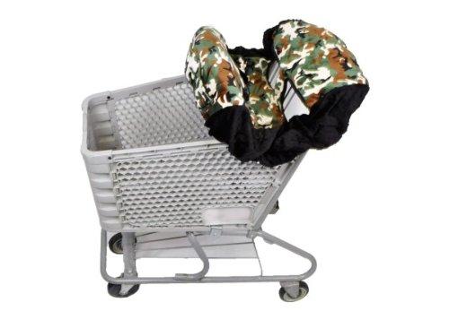 Shopping Cart Cover - Green Camo/Black