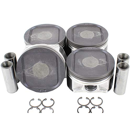 DNJ P718 Piston Set for 2002-2005 / Saab, Subaru / 9-2X, Impreza / 2.0L / DOHC / H4 / 16V / 1994cc / EJ205