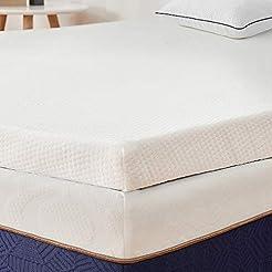 BedStory 2 Inch Memory Foam Mattress Top...