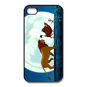 iphone4 4s Phone Case Black Lion King ES3TY7831991