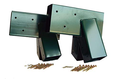 Porch Swing A-frame - SAFARI SWINGS Outdoor Metal A Frame Swingset Bracket Hardware (4