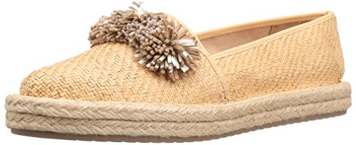 Mocassino Gold Flat Summer Natural Women's Sam Sand Molten Edelman 4YqxfEtwnT