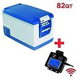 ARB Fridge Freezer 82 Quart Bundle with ARB Wireless Fridge Remote Display 10800782RM