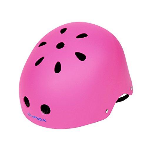 Jili Online Vent Climbing Helmet Hard Hat Outdoor Arborist Rock Climbing Protective Gear - Pink, 52-58cm by Jili Online