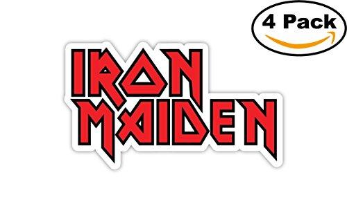 Sticker Iron (IRON MAIDEN Sticker Decal Heavy Metal Vinyl Bumper Wall 3X5)