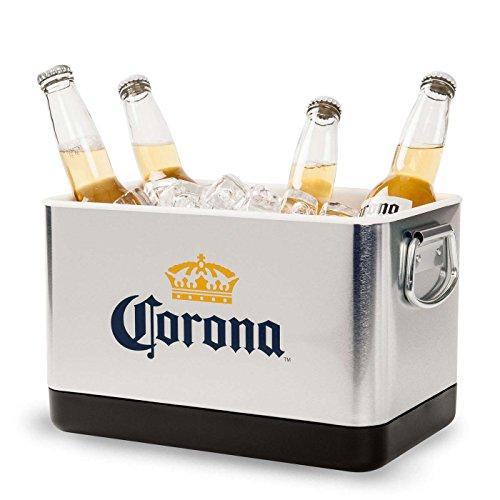 Ice Chest Corona - Corona Extra Mini Beverage Stackable Cooler Bucket