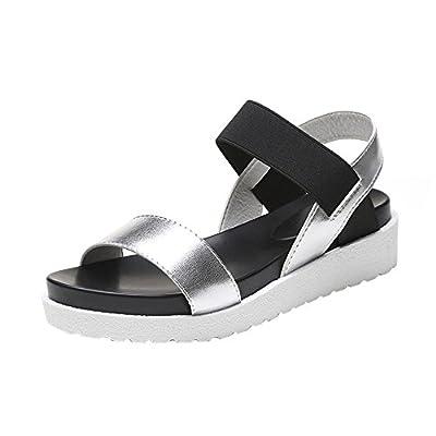 HOT Sale ,AIMTOPPY Summer Sandals Women Aged Flat Fashion Sandals Comfortable Ladies Shoes