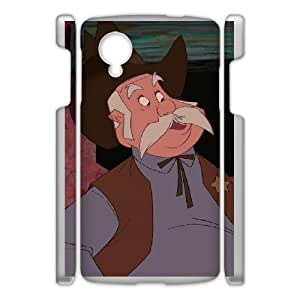 Google Nexus 5 Phone Case White Home on the Range Sam the Sheriff DXW6776979