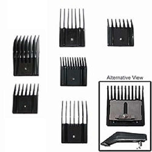 Guide Comb Set for Oster, Andis, & Wahl Clippers (6-Piece) ()