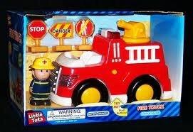 edición limitada Little Little Little Tots Fire Truck   Lights and Sound by Little Tots  ganancia cero