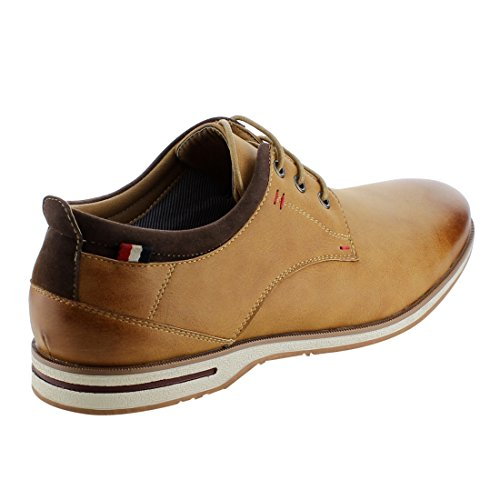 Arider Ag50 Mens Pull Tab Lace Up Oxford Classico Tan