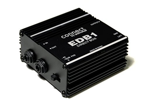 Whirlwind EDB1 1-channel Passive Instrument Direct Box