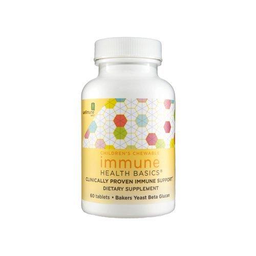 Chewable 60 Mg 25 Tablets (Immune Health Basics Childrens Chew Immune HB, 25 mg - 60 Tablets by Immune Health Basics)