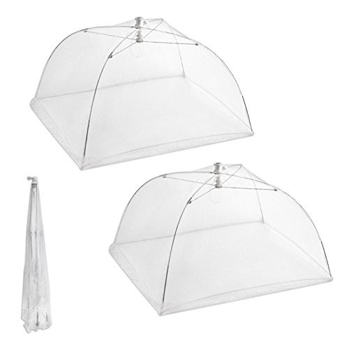 Ambox-Set-of-2-Large-Pop-Up-Mesh-Screen-Food-Cover-Tents-Keep-Out-Flies-Bugs-Mosquitos-Reusable-and-Collapsible-2-Pack-16-L-x-16-W