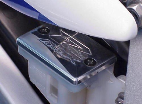 (i5 Suzuki GSXR 600 750 1000 GSXR600 GSXR750 GSXR1000 CHROME REAR BRAKE FLUID CAP)
