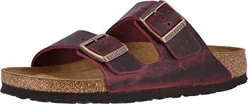 Birkenstock Women's Arizona SFB Zinfandel Oil Leather 42 N