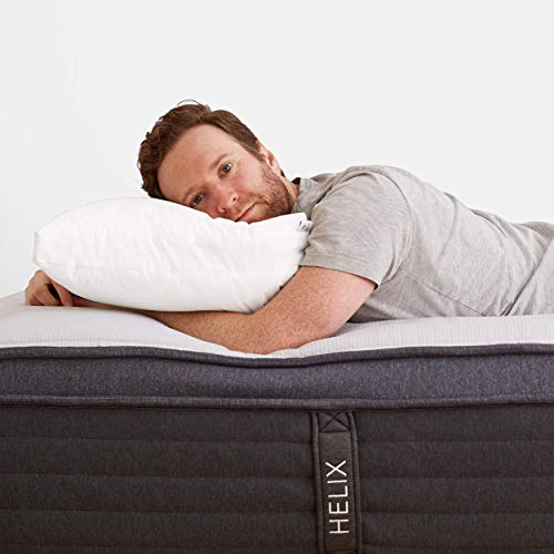 Helix Adjustable Pillow – Pillow for Sleeping – Low or High Height Option for Customized Support – Hypoallergenic Pillow – King Pillow or Standard Pillow Available – Set of 1 Pillow – (Standard)