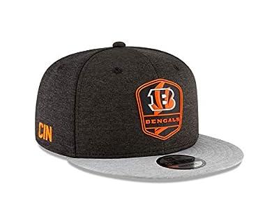 New Era Cincinnati Bengals 2018 NFL Sideline Road Official 9FIFTY Snapback Hat