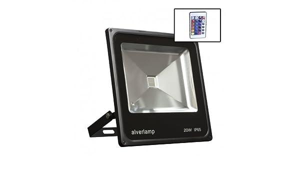 Alverlamp LPRO20RGB - Proyector led rgb+mando 20w: Amazon.es ...