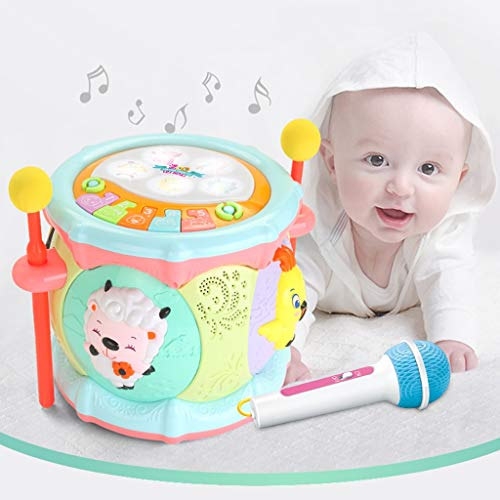 LIPENG-TOY 0-3-6 Years Old Children Learn to Sing Can Accompaniment Hand Drums Baby Infant Enlightenment Baby Toys Boys and Girls (Color : Multi-Colored) by LIPENG-TOY (Image #7)