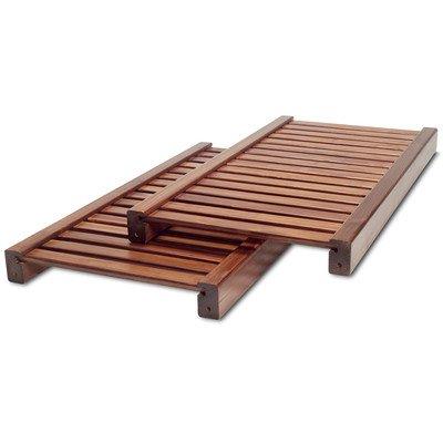 Adjustable Shelf (Set of 2) Finish: Red Mahogany