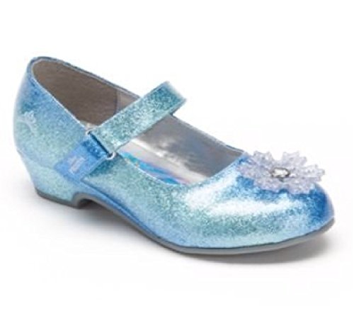 Disney Frozen Elsa Girls Dress Shoes Mary Janes Toddler Size 7