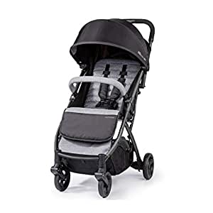 Summer 3DPac Stroller, Lightweight and Compact Carseat Adaptable Design with Convenient One-Hand Fold, Reclining Seat and Extra-Large Canopy