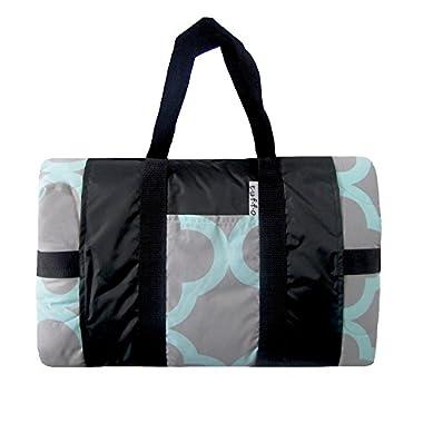 Tuffo Water-Resistant Outdoor Blanket, Quatrefoil