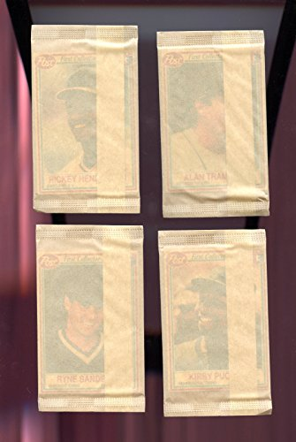 1990 Post Cereal Baseball Card Set 16 Unopened Wax Pack From Case Box