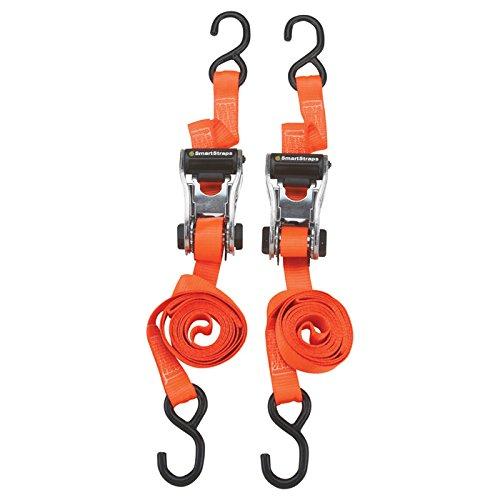 RatchetX Aluminum Tie-Down Straps - 2-Pk., 3,000-Lb. Breaking Strength, Model# 264