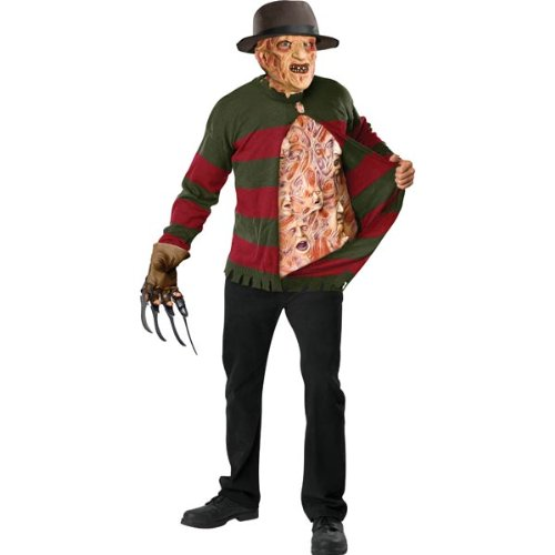Freddy Krueger Chest of Souls Costume - X-Large - Chest Size 44-46 -