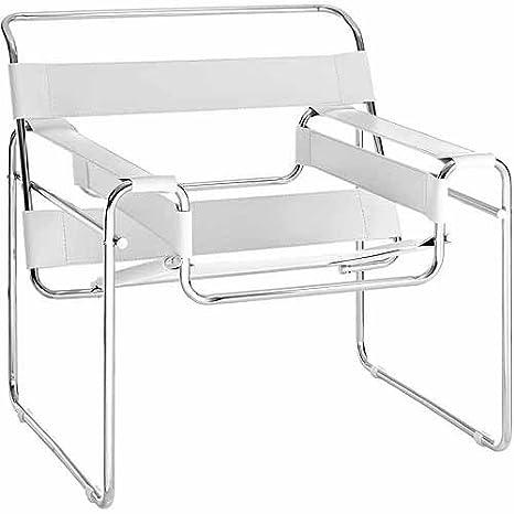 Amazon.com: Innovador Sling de piel sintético silla de salón ...