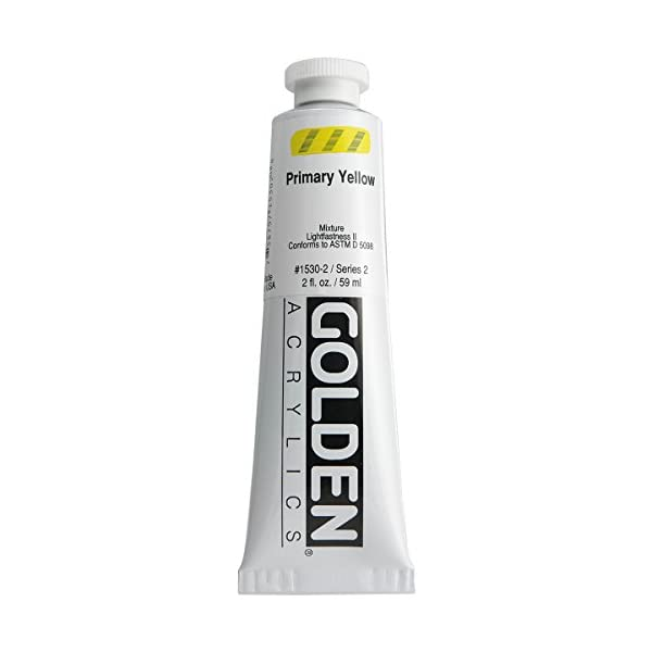 2-Oz-Heavy-Body-Acrylic-Color-Paints-Color-Primary-Yellow