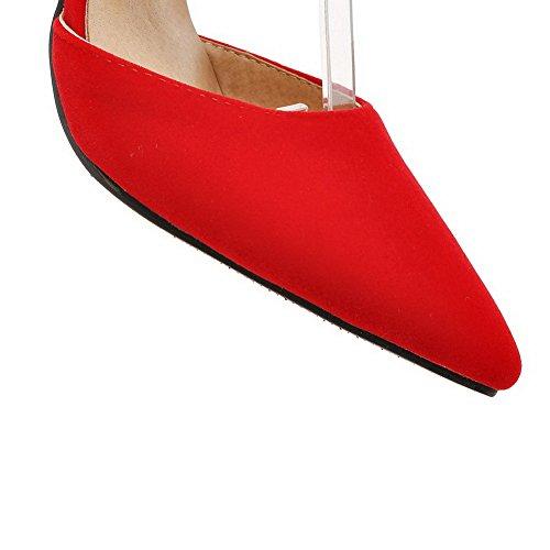 con Donna BalaMasa Sandali EU ASL05536 Zeppa Rosso 35 Red xFTHpRq