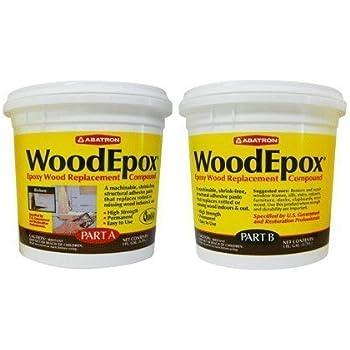 Abatron Woodepox Epoxy Wood Replacemnt Compound 2 Gallon