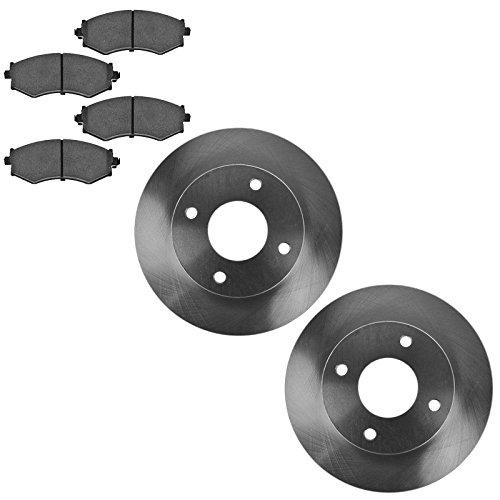 Infiniti G20 Front Brake (Front Ceramic Brake Pads & Rotors Kit Set for Infiniti G20 Nissan Sentra Stanza)