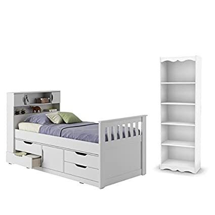 Amazon.com: Sonax 2 Piece Bedroom Set with Twin Bed and ...