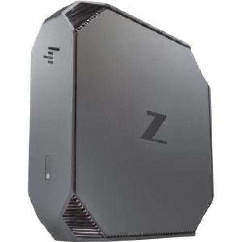 HP Workstation Z2 Mini G3 Entry Mini, 8 GB RAM, 1 TB HDD, Intel HD Graphics, Black/Gray (Z2D59UT#ABA)