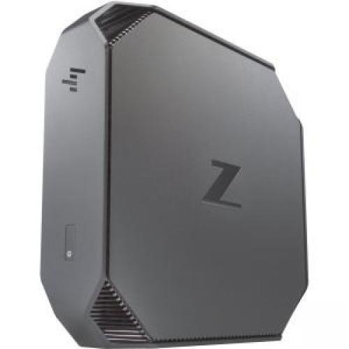 HP Workstation Z2 Mini G3 Entry Mini, 8 GB RAM, 1 TB HDD, Intel HD Graphics, Black/Gray (Z2D59UT#ABA) by HP (Image #1)